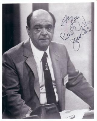 James Coco autographed 8x10 photo (For Lou)