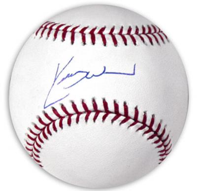 Kerry Wood autographed MLB baseball