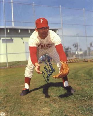 Cookie Rojas autographed 8x10 Philadelphia Phillies photo