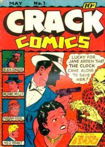 Comics; The CRACK Comics
