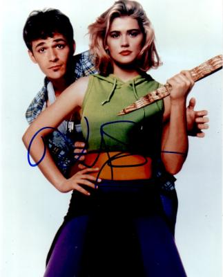 Kristy Swanson autographed 8x10 Buffy the Vampire Slayer posed photo