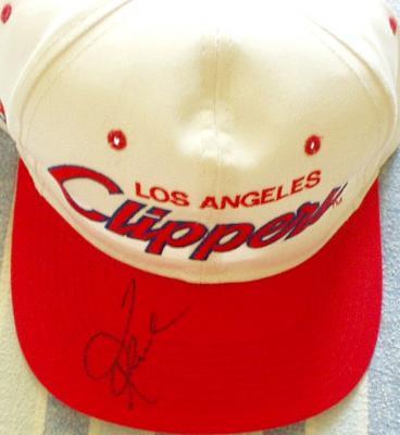 Quentin Richardson autographed Los Angeles Clippers cap