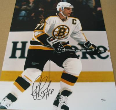 Ray Bourque autographed Boston Bruins 16x20 poster size photo