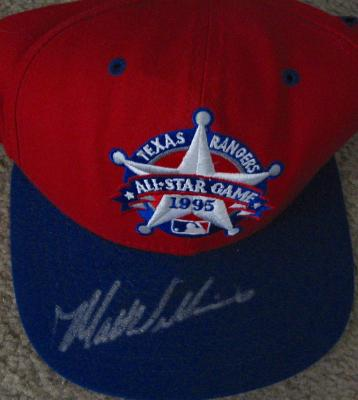 Matt Williams autographed 1995 All-Star Game cap