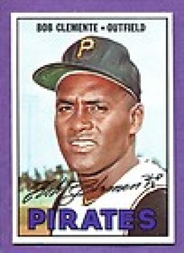 1967 Topps Baseball Card, Roberto Clemente