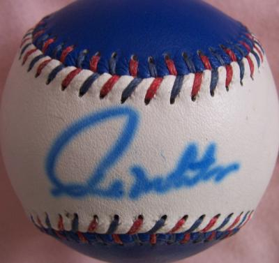 Paul Molitor autographed Toronto Blue Jays baseball