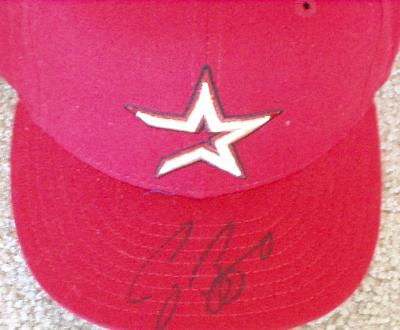 Craig Biggio autographed Houston Astros game model cap
