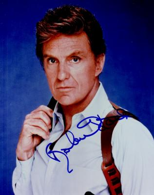 Robert Stack autographed 8x10 photo