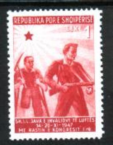 War invalids 1v; Year: 1947