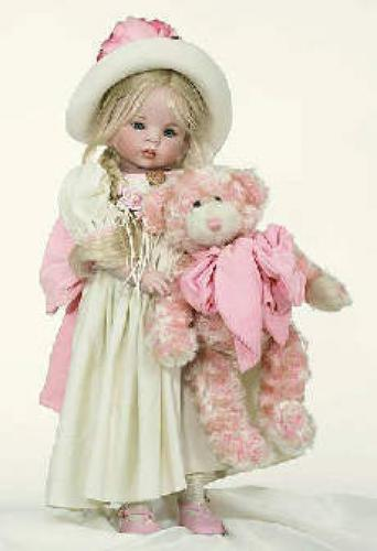 "Dolls; This Beautiful Collectible Porcelain Doll, is 24"" tall, and LE 150"