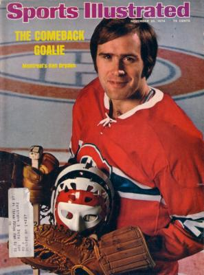 Ken Dryden Montreal Canadiens 1974 Sports Illustrated