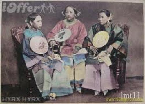 Rare old photographs of China postcards