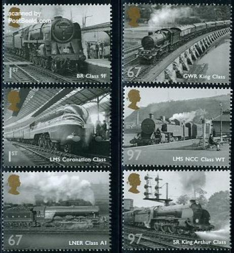 Railways in steam era 6v