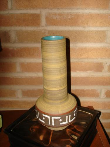 U Keramik mod West German Pottery vase