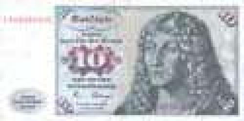 Germany,  Federal   Republic; 10 Deutsche Mark; Issue of 1980