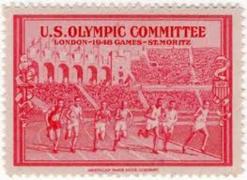 Stamps; London Olympic   Year: 1948 stamps