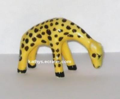 Miniature Bone China Baby Giraffe Animal Figurine