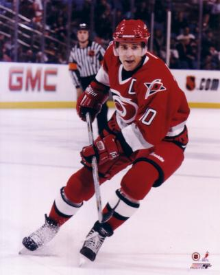 Ron Francis 8x10 Hurricanes photo