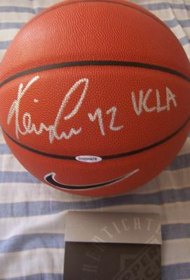 Kevin Love autographed Nike basketball inscribed UCLA (UDA)