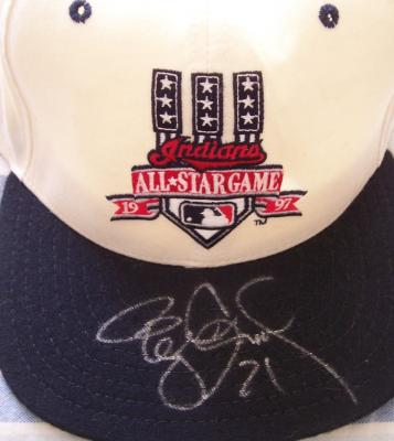 Roger Clemens autographed 1997 All-Star Game cap