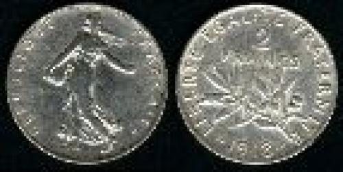 2 francs; Year: 1898-1920; (km 845.1)