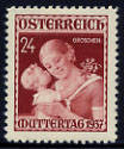 Mother day 1v; Year Issue: 1937