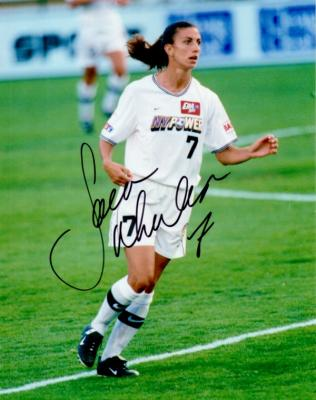 Sara Whalen autographed 8x10 WUSA New York Power photo