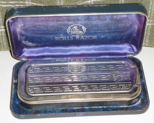 1927 Imperial #2 Rolls Razor Nickel Plated