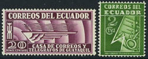 Postal building 2v; Year: 1934