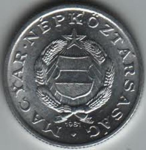 Coins; Hungary 1 Forint 1981