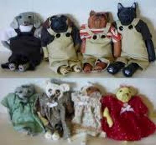 Unique Dog Dolls