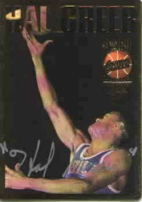 Hal Greer certified autograph Philadelphia 76ers 1994 Action Packed Hall of Fame card