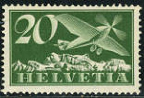 Airmail definitive 1v