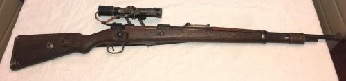 WW2 German k98 sniper rifle