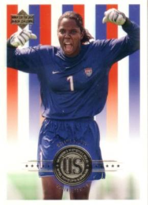 Briana Scurry 2000 Upper Deck US Women's National Team soccer card