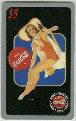 Coca Cola Sprint Premier $5.00 Phone Card