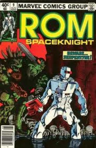 Comics; ROM Spaceknight #9 (Marvel Comics, 1980)