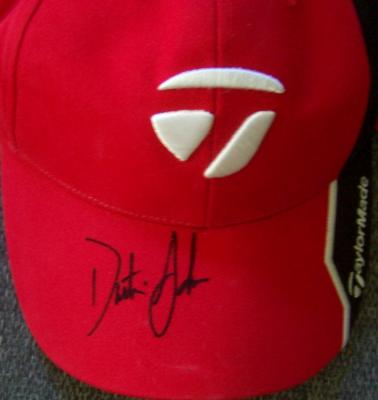 Dustin Johnson autographed TaylorMade golf cap or hat