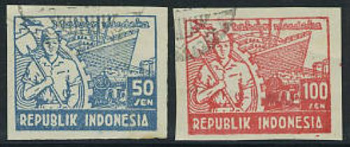Definitives 2v; Year: 1948