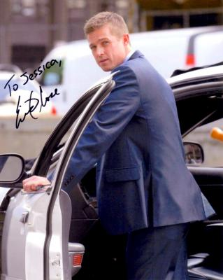 Eric Close autographed Without a Trace 8x10 photo (to Jessica)
