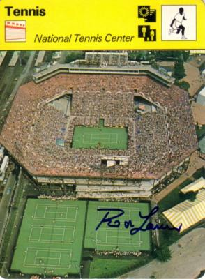 Rod Laver autographed 1979 Sportscaster U.S. Open card
