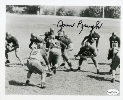 Sammy Baugh autographed 8x10 photo