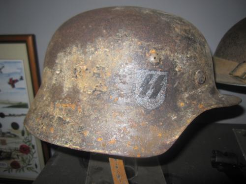 WW2 German SS helmet copy