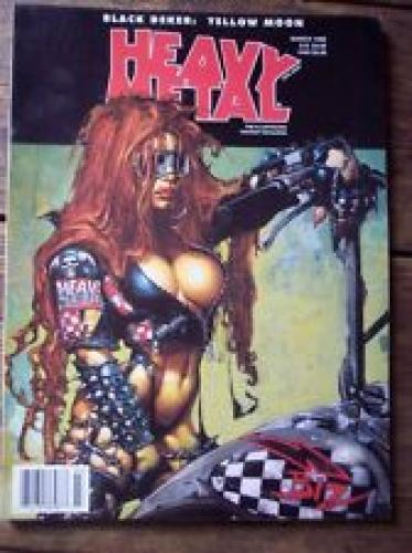 Heavy Metal Magazine March 1998 Adult Fantasy Arts