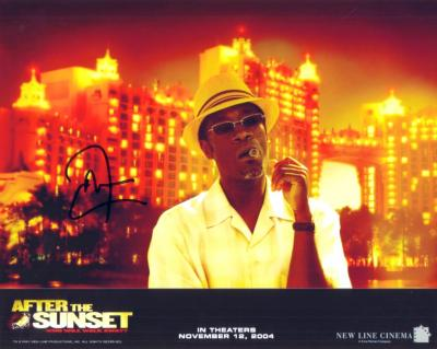 Don Cheadle autographed 8x10 After the Sunset photo