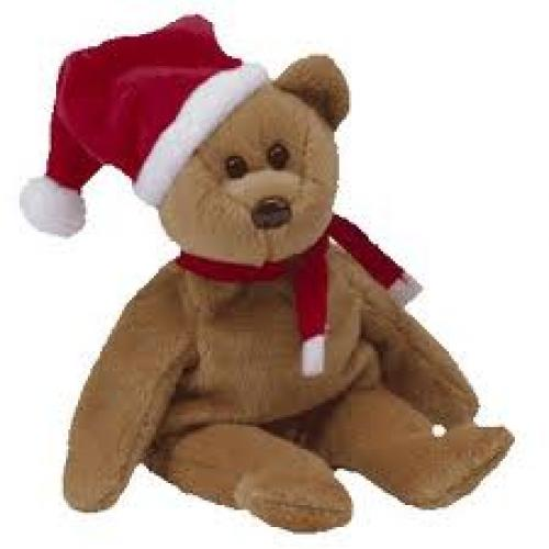 Ty Beanie Baby 1997 Holiday Teddy Toy