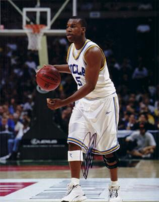 Baron Davis autographed UCLA 8x10 photo