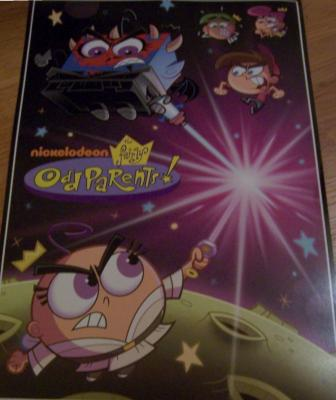 Fairly OddParents 2010 Nickelodeon Comic-Con promo poster