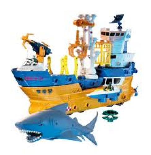 Boat; Mega-Rig Shark Ship