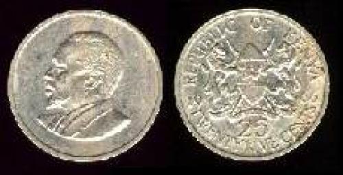 25 cents 1966-1967 (km 3)